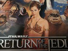Star Wars: Episode VI Return Of The Jedi Poster RARE!!! VINTAGE! 1983 ORIGINAL!!