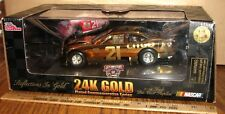 Citgo Nascar 21 Race Car 1:24 Toy 1998 24K GOLD PLATED EDITION Ford Waltrip LtEd