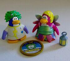 Disney Club Penguin Mad Scientist & Fairy Figures