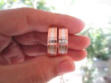 .09 Carat Diamond White Rose Gold Wedding Rings 14K CODE WD011 sepvergara