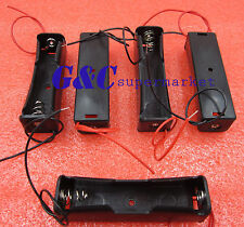 10pcs Plastic Battery Holder Storage Box Case for 1x 18650 Rechargeable Battery