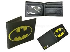 Marvel Comic Batman Boys Black/Yellow Wallet Card Holder Novelty Gift