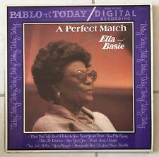 ELLA FITZGERALD AND COUNT BASIE a perfect match LP EX/EX- 2312 110 bop swing
