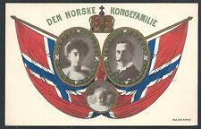 Norway covers 1915 Royal Family Ppc from Porsgrund
