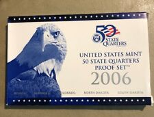 2006 S  United States Mint  State Quarters Proof Set