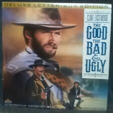 The Good The Bad And Ugly Laserdisc Deluxe Letter-Box Clint Eastwood 1966/1990