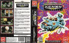Xenon 2 Megablast Sega Mega Drive PAL Replacement Box Art Case Insert Cover Scan