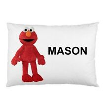 ELMO SESAME STREET Personalized childrens kids BED pillow case