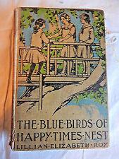 """The Blue Birds of Happy Times Nest"" by Lillian Elizabeth Roy (1914) Vintage"
