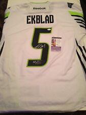 JSA Aaron Ekblad Signed 2015 Green All Star Game Jersey COA Florida Panthers