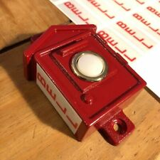 Vintage Style Fire Alarm Doorbell - Gamewell Box Style w/ BELL Stickers