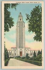 Baton Rouge Louisiana~LA State Capitol Bldg~Vintage Postcard