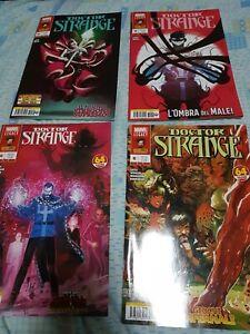 """Lotto fumetti comics Marvel Legacy """"Doctor Strange"""" n°38 al 41 come nuovi"""