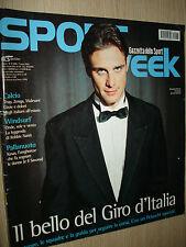 SPORT WEEK ANNO 6 N°17 (255) SPECIALE GIRO D´ITALIA 2005 ALESSANDRO PETACCHI