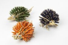 Hedgehogs 3 Prickly Magnets Fridge Locker Fair Trade Thailand Recycled NWT