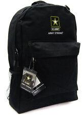 U.S. ARMY Black Backpack