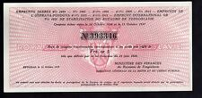 EMPRUNTS SERBES royaume de YOUGOSLAVIE 5 Francs OR beograd 1937 emprunt or Cert.