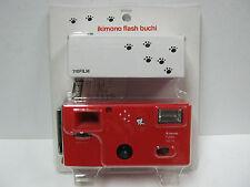 Superheadz ikimono Flash Buchi Spotted Cat 110 Format Camera with Film Brand New