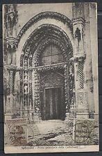 Dalmatia covers 1920 frontside franked PPC Sibenik