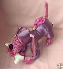"Easter Satin Stuffed Plush Hound Dog Bloodhound 13 1/2"" L"