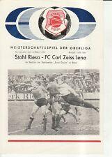 OL 75/76 BSG Stahl Riesa - FC Carl Zeiss Jena