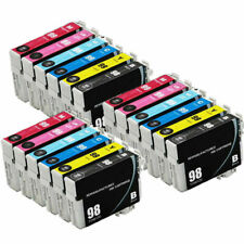 18-Pk/Pack T098 T099 REMAN Ink For Epson Artisan 700 710 725 730 800 810 835 837