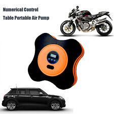 Portable 12V Car Air Compressor Pump Numerical Control Table Auto Tire Inflator