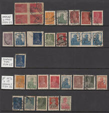Russia #250//322 used definitives perf & wmk types 59 diff stamps cv $95.60