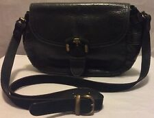 Holt Renfrew Handbag Italy Shoulder Purse 1990s Green Leather Vintage Bag
