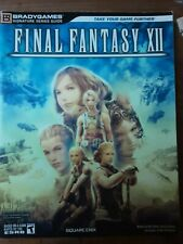 Final Fantasy XII Game Guide By Brady Games (Sony PlayStation 2, 2007)