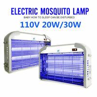 110V 20W / 30W Indoor Electric UV Mosquito Killer Bug Zapper Pest Light Catcher