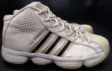 Adidas Pro Model w/Torsion Shell Toes White/ Navy Youth Size 4.5