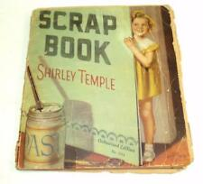 Shirley Temple Scrap Book No. 1714 1935 Saalfield Authorized Edition