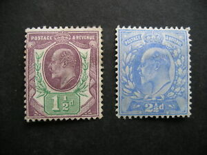 GREAT BRITAIN King Edward VII 1902 MH