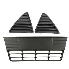OEM NEW Lower Bumper & Radiator Grille & Inserts Set 2012-2014 Ford Focus