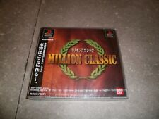 JEU PLAYSTATION 1 JAP (PS1): MILLION CLASSIC -NEW SEALED