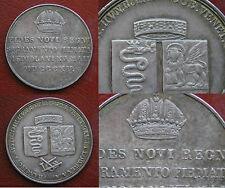 FRANCESCO I° ASBURGO LORENA - GIURAMENTO FEDELTA' DELLE PROVINCE LOMBARDE 1815