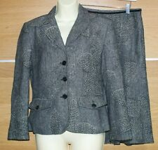TAIFUN wool and silk blend suit skirt size 10