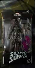 Hasbro Marvel Legends Series - Obsidian Silver Surfer with Mjolnir 6in.