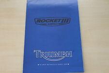 167342) Triumph Rocket III Poster / Prospekt 2004