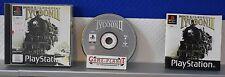 Railroad Tycoon 2 OVP Sony Playstation 1 P1 PSX Pone Zug Bahn Simulation Box