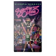 New Richard Simmons Sweatin' To The Oldies 3 VHS Tape Fitness Exercise Health