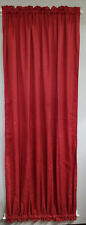 """Paprika Jacguard french door Curtain 53"""" W by 70.5"""" length SASH"""