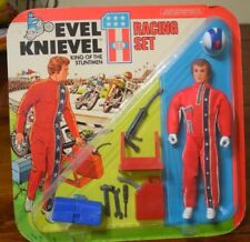 EVEL KNIEVEL IDEAL RACING SET NEW