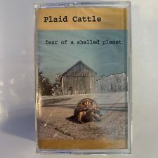 Plaid Cattle Fear of A Shelled Planet (Cassette) New Sealed Alton Illinois Indie