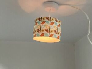 Lundby light and plug dolls house ceiling light and rose - it works!