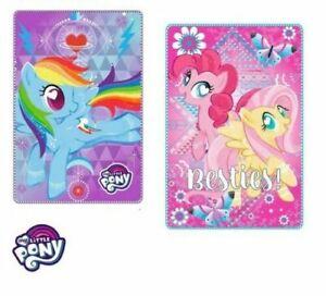 My Little Pony Fleece Blanket Girls Kids Brand New Official 100cm x 150cm
