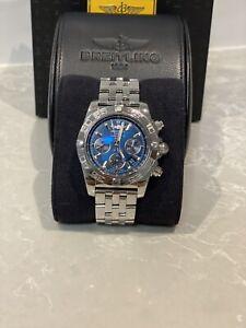 Breitling Chronomat44 Silver Watch