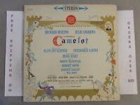 CAMELOT ORIGINAL BROADWAY CAST SOUNDTRACK LP JULIE ANDREWS KOS 2031
