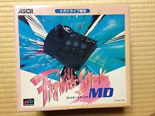 Fighter Stick MD Mega Drive Japan Sega Genesis boxed set